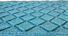 Raised Diamond Blanket