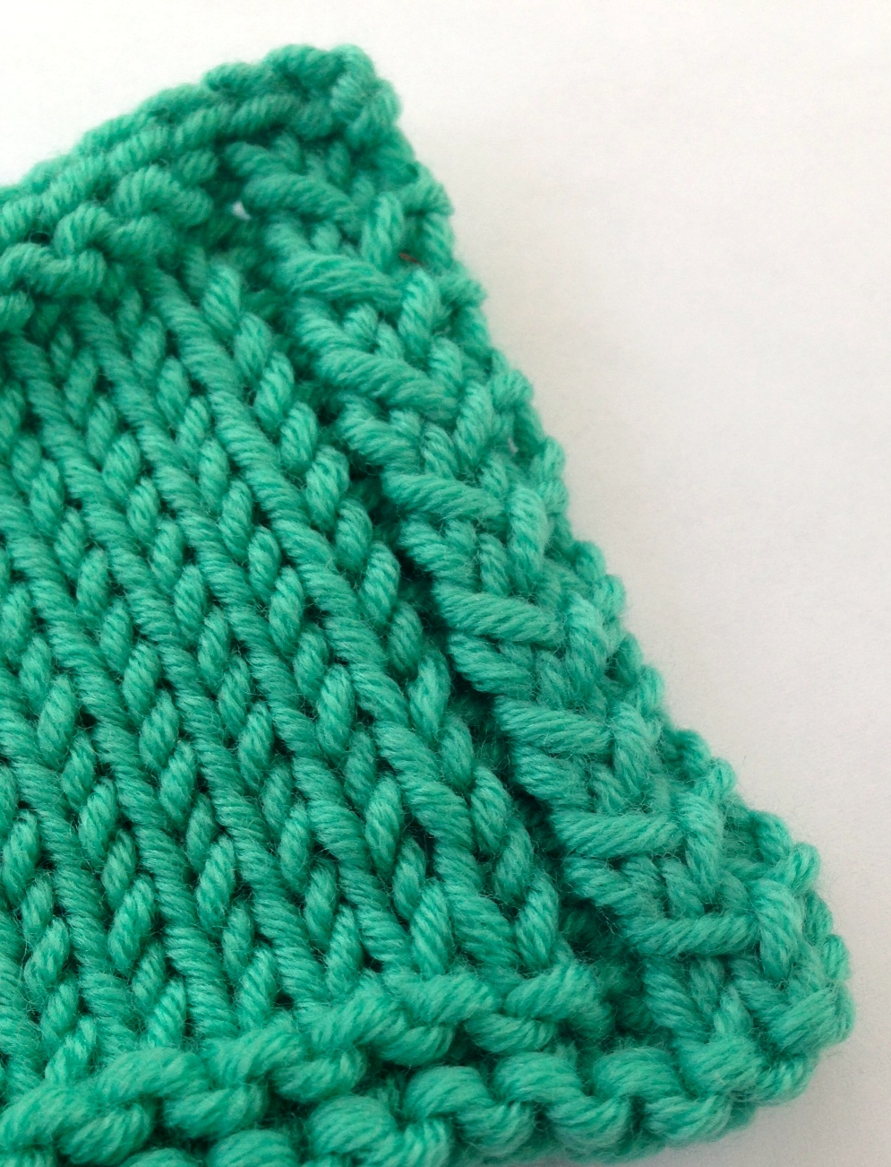 Knitting Edges Garter Stitch : These stitches will instantly improve your knit edges