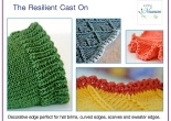 resilient cast on