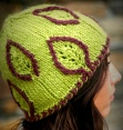 Embossed Leaf Hat
