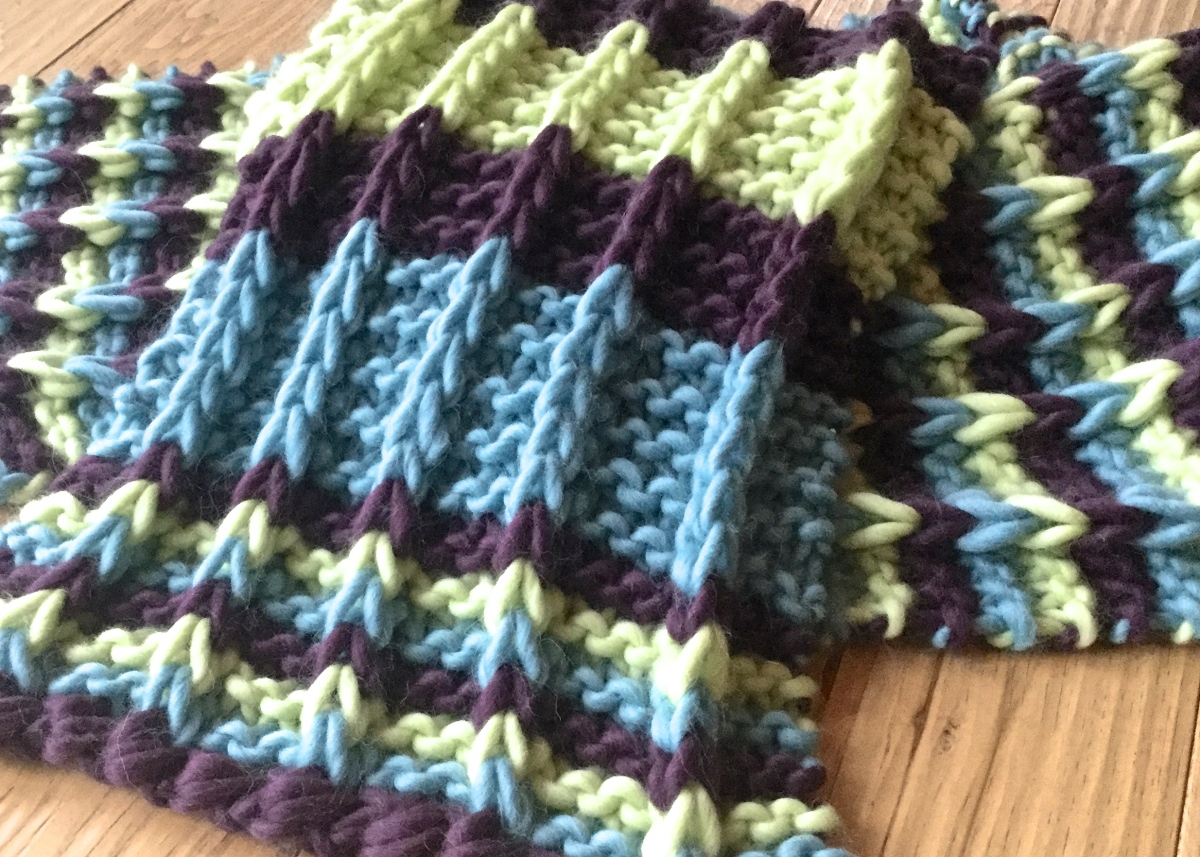 Garter Stitch Has Never Looked so Good!